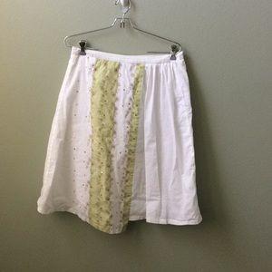 Anthropologie skirt size 8